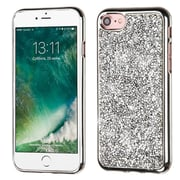Insten Hard Diamond Case For Apple iPhone 7 Silver by