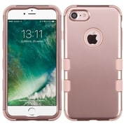 Insten Tuff Hard Hybrid Silicone Cover Case For Apple iPhone 7 - Rose Gold