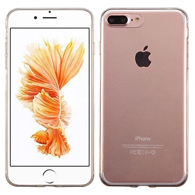 Insten TPU Ultra Slim Skin Gel Rubber Cover Case For Apple iPhone 7 Plus/ 8 Plus, Clear (2271343)