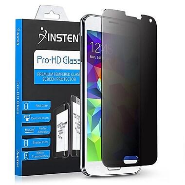 Insten ? Protecteur d?écran ACL avec filtre de confidentialité en verre trempé pour Samsung Galaxy S5 (2232715)