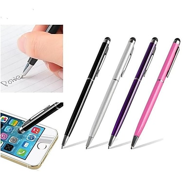Insten 4 Packs 2in1 Capacitive Touch Screen Stylus with Ball Point Pen For iPhone 6 Plus 5.5