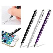 """Insten 3pcs 2-in-1 Touch Screen Stylus Ballpoint Pen For Universal Phone Tablet for iPhone 6 Plus 5.5"""" 4.7"""" / 5S 5C 4S"""