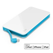 iLuv myPower Lithium-ion Apple and Android Compatible, White (MYPOWER50LWH)