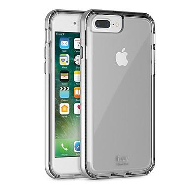 iLuv – Étui en métal Forge pour iPhone 7 Plus, argent (AI7PMETFSI)