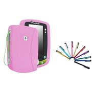 Insten Silicone Skin Case For Leapfrog LeapPad 2, Baby Pink (with 10-Piece Stylus)