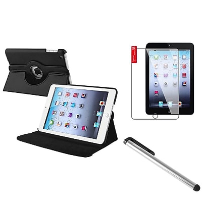 Insten PU Leather Case Cover Black (Supports Auto Sleep/Wake) For iPad Mini 1 2 3
