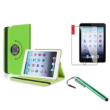Insten® Leather Case Stand and Clear Screen Protector with Stylus For iPad Mini 1 / 2 / 3