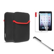 Insten Black Sleeve Case Bag + Stylus + Screen Protector For Apple iPad Mini 3 3rd 2 2nd 1 1st Gen