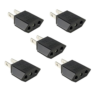 Insten 5 Piece European Euro EU to US USA Travel Charger Adapter Plug (1291643)
