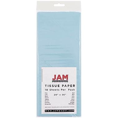 JAM Paper® Tissue Paper, Baby Blue, 10/Pack (1152347)