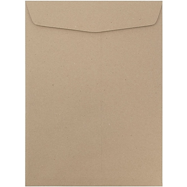 JAM Paper® 10 x 13 Open End Catalog Envelopes, Brown Kraft Recycled, 10/pack (6315603B)