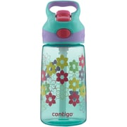 Contigo 71087 14-Ounce AUTOSPOUT Striker Kids Bottle (Ultramarine Lillies)