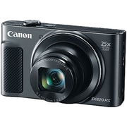 CANON PowerShot SX620 20.2-Megapixel HS Digital Camera 25x Optical Zoom, Black (CND1072C001)