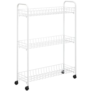 Honey-Can-Do CRT-01149 3-Tier Laundry Cart