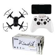 Cobra RC Toys 909316 Fpv Wifi Drone With Hd Camera & Kinetic 50 Pk AAA