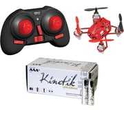 World Tech Toys 34452 4.5-channel 2.4gHz Supernova Drone & Kinetic 50 Pk AAA