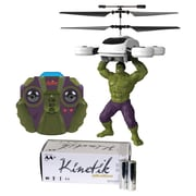 World Tech Toys 34891 2-channel Marvel IR Helicopter & Kinetik AA 50pk