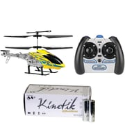 World Tech Toys 35041 2-channel Rex Hercules RC Helicopter & Kinetik AA 50pk