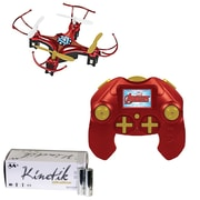Marvel 33758 4.5-channel 2.4ghz Iron Man Micro Drone & Kinetic 50 Pk Aa