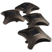MAXSA Innovations 47335 Ninja Star Solar Deck Lights, 4 pk