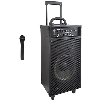 PYLE PRO PWMA1050BT Wireless Portable Bluetooth PA Speaker System