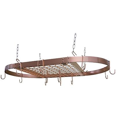 Range Kleen CW6015 Copper Oval Pot Rack