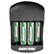 Rayovac PS134-4B GEN Value Charger with 2 AAA & 2 AA Ready-to-Use Rechargeable Batteries