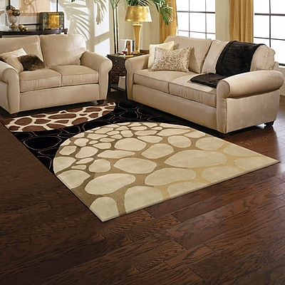 Bloomsbury Market Duquense Brown Area Rug; Rectangle 3'6'' x 5'6''