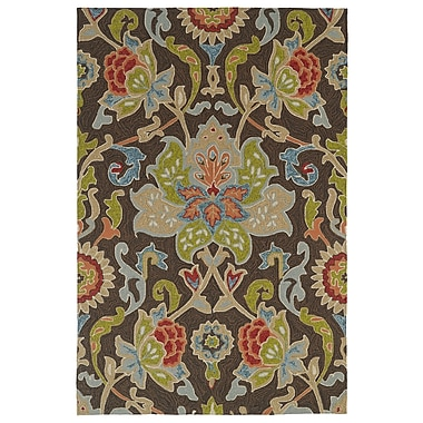 Charlton Home Manning Multi-colored Tufted Indoor/Outdoor Area Rug; Rectangle 2' x 3'