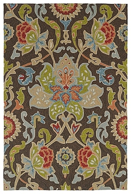 Charlton Home Manning Multi-colored Tufted Indoor/Outdoor Area Rug; Rectangle 9' x 12'