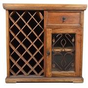 Artesano Home Decor 23 Bottle Bar w/ Wine Storage