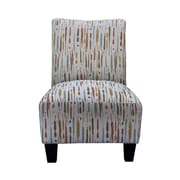 GraftonHome Spattered Armless Accent Chair