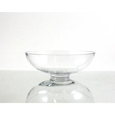 WGVInternational Bowl Vase; 3'' H x 8'' W x 8'' D