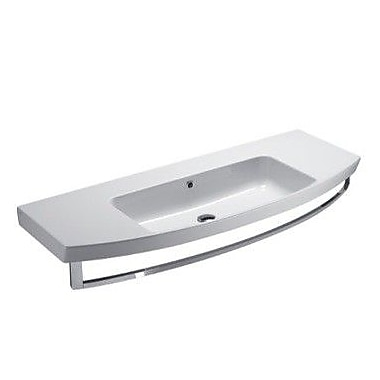 GSI Collection Modo 47'' Wall Mounted Bathroom Sink w/ Overflow