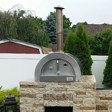 ilFornino F- Series Mini Basic Stainless Steel Wood Fired Pizza Oven