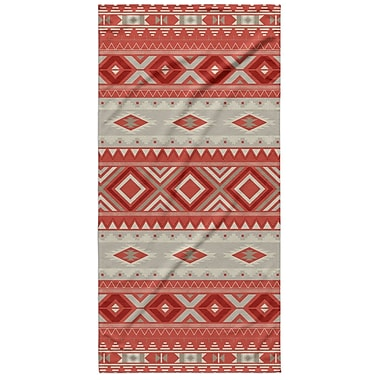Loon Peak Cabarley Beach Towel; Red