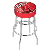 Holland Bar Stool NHL 30'' Swivel Bar Stool; University of Nebraska