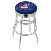 Holland Bar Stool 30'' Bar Stool; Columbus Blue Jackets