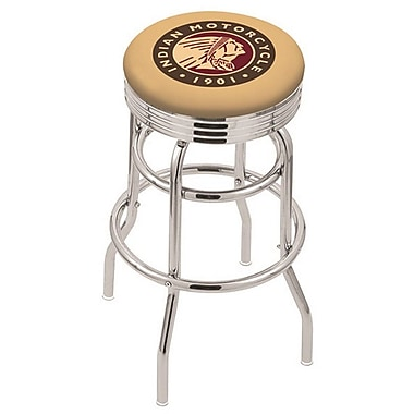 Holland Bar Stool NCAA Swivel Bar Stool; Indian Motorcycle