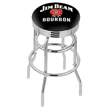 Holland Bar Stool NCAA Swivel Bar Stool; Jim Beam