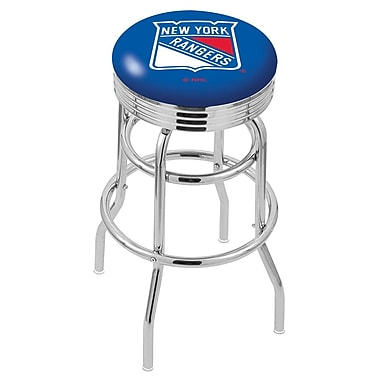Holland Bar Stool NCAA Swivel Bar Stool; New York Rangers