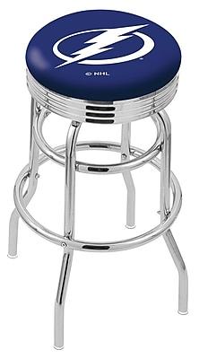 Holland Bar Stool NCAA Swivel Bar Stool; Tampa Bay Lightning WYF078279644516