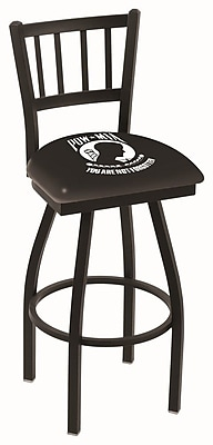 Holland Bar Stool NCAA 44'' Swivel Bar Stool; POW/MIA