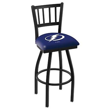 Holland Bar Stool NHL 36'' Swivel Bar Stool; Tampa Bay Lightning