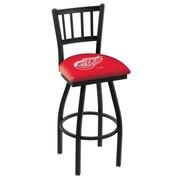 Holland Bar Stool NHL 36'' Swivel Bar Stool; Detroit Red Wings