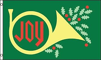 FlagsImporter Christmas Joy Traditional Flag