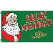 FlagsImporter Feliz Navidad Traditional Flag