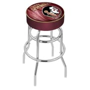 Holland Bar Stool NHL 30'' Swivel Bar Stool; Florida State- Head