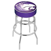 Holland Bar Stool NHL 30'' Swivel Bar Stool; Kansas State University