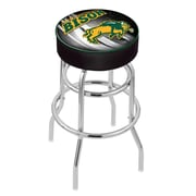 Holland Bar Stool NHL 30'' Swivel Bar Stool; North Dakota State University- Black